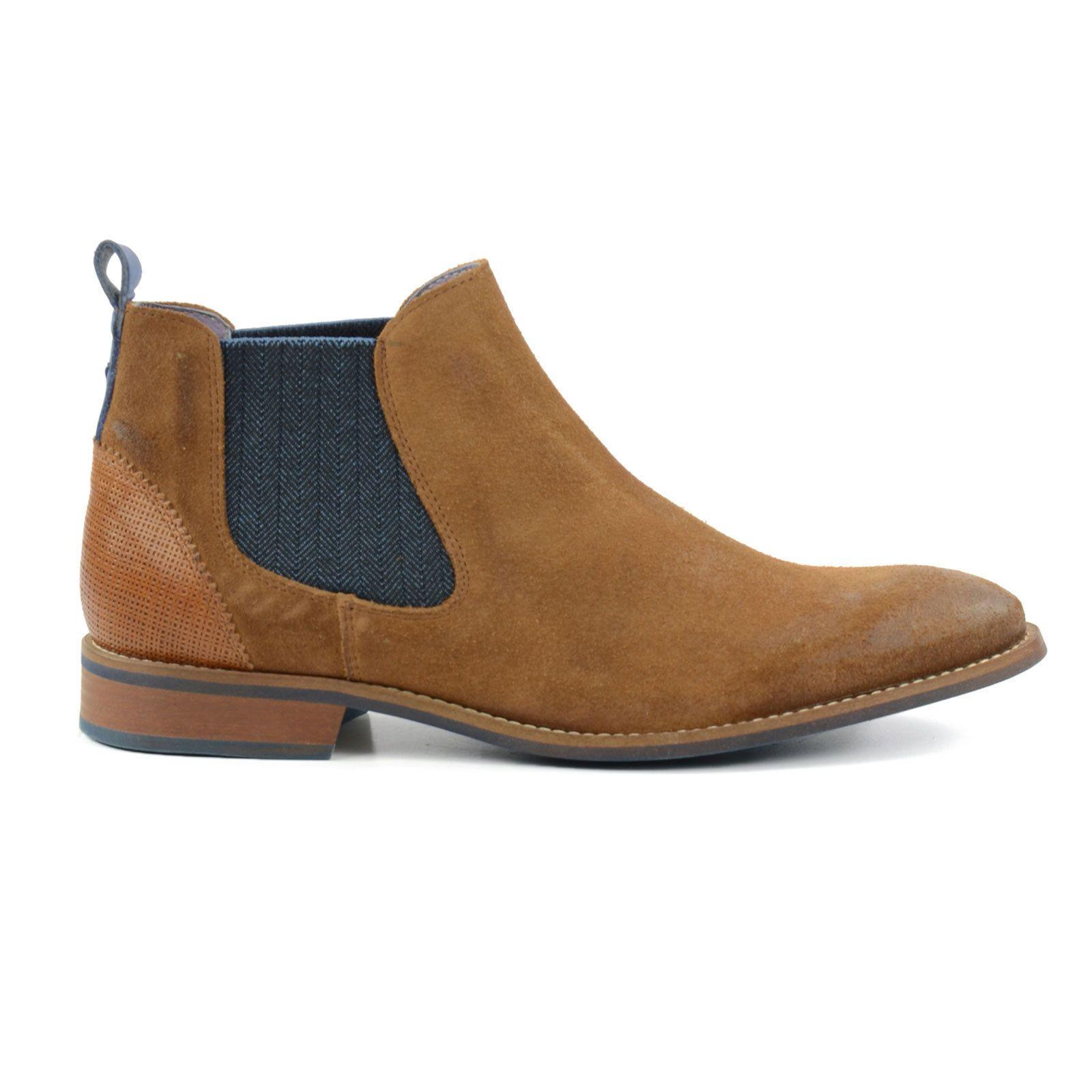 Bottines Chelsea en daim - Marron - MarronZign Shoes ejAAye