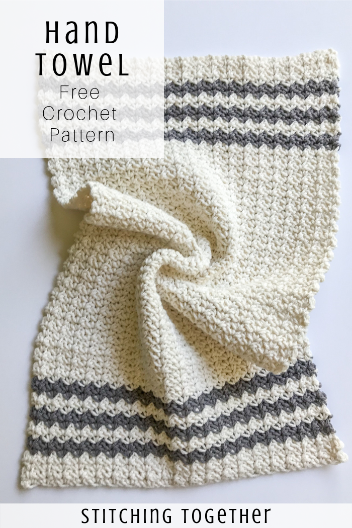 Crochet Country Dish Towel Stitching Together Crochet With