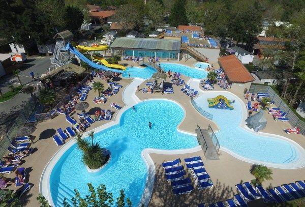 Top 10 camping dans les landes avec parc aquatique Camping avec piscine dans les landes