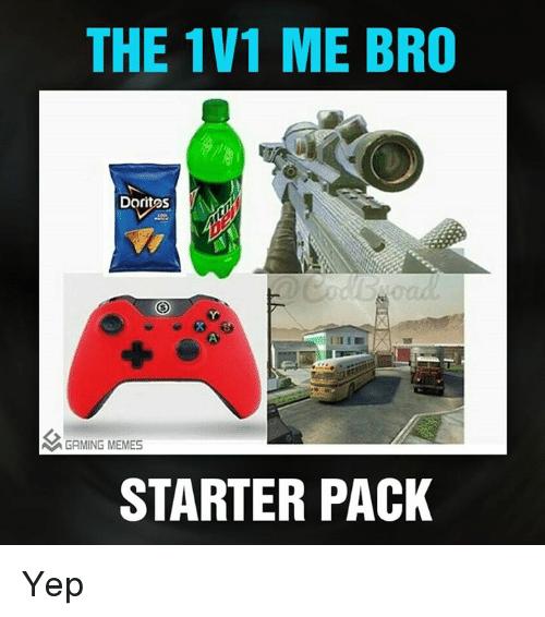 Via Me Me Starter Packs Meme Packing Meme Gaming Memes