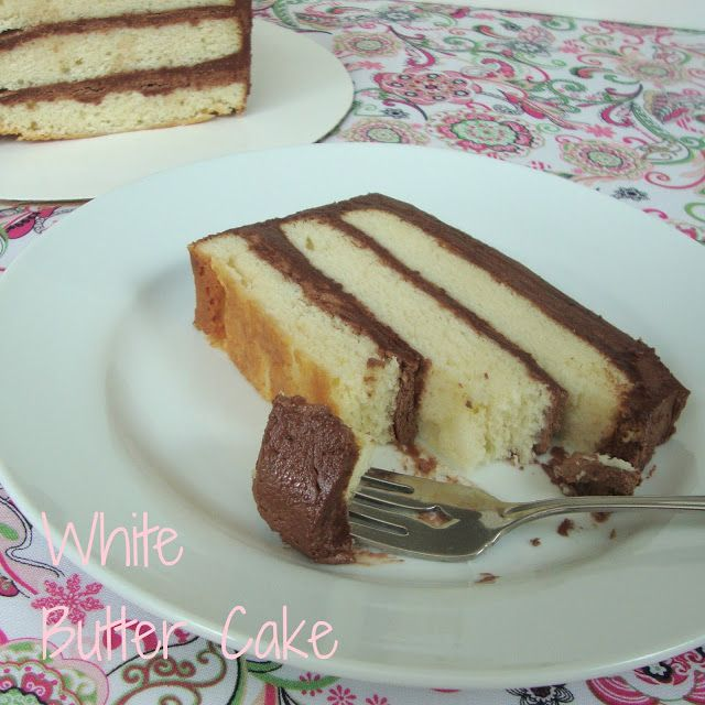 White Butter Cake from Chocolate Chocolate and more