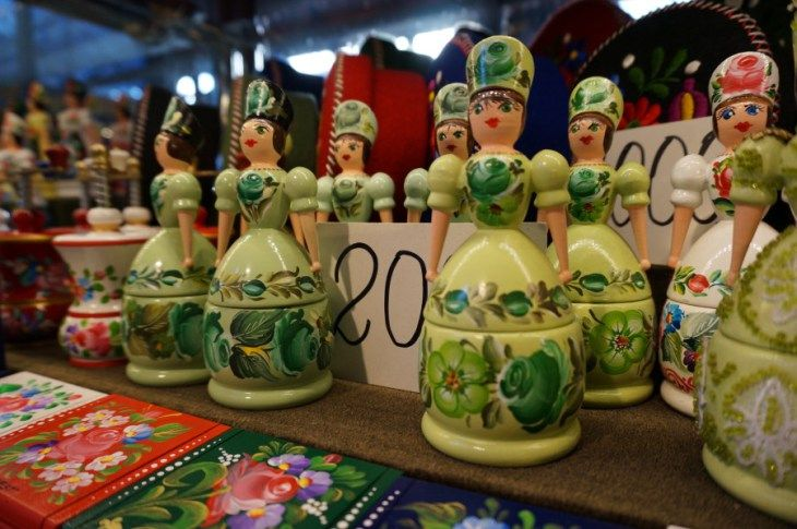 Traditional Hungarian Souvenirs at Budapest's Central Market Hall - Souvenir Finder