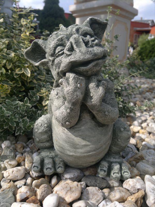 beton figur til haven