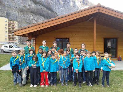 Rencontre avec les Scouts et Guides de France et les Scouts d'Europe