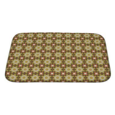Gear New Delta Kaleidoscope Pattern Bath Mat/Rug Size: