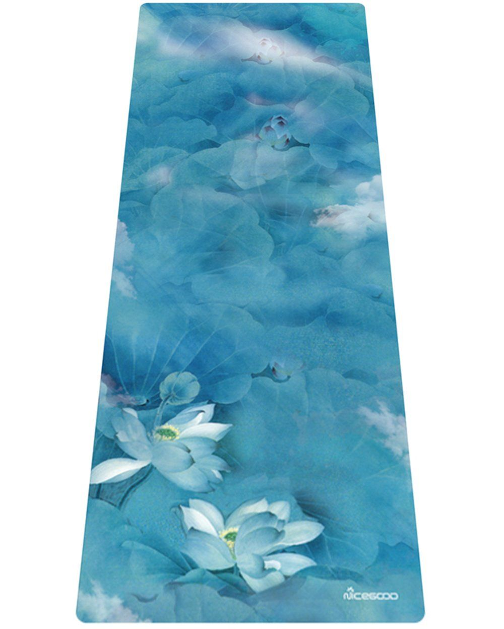 Aflower Printed Yoga Mat Nonslip 1 8inch Thick Made From Eco Friendly Natural Rubber With Carrying Bag And Strap You Can Get Print Yoga Mat Yoga Mat Prints