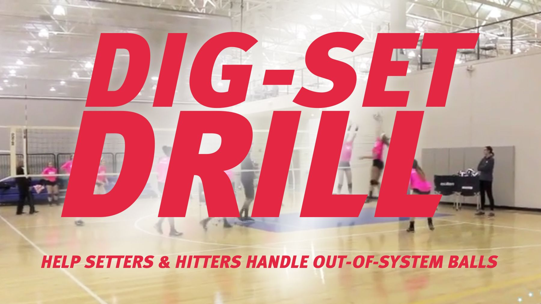 Tav Dig Set Drill The Art Of Coaching Volleyball Volleyball Drills For Beginners Coaching Volleyball Volleyball Drills