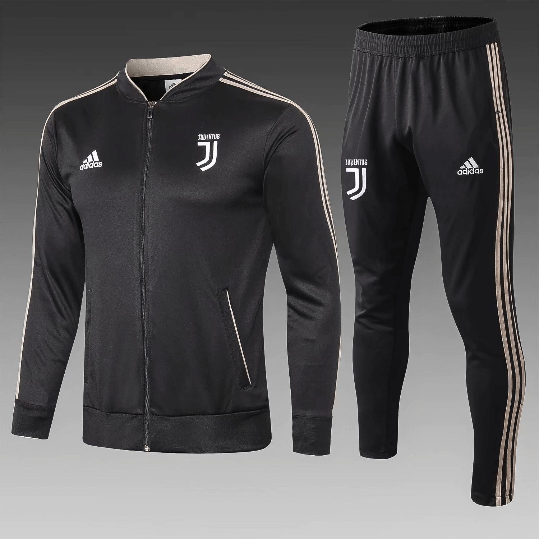 921fd9508 Juventus 18 19 Black Men Jacket Tracksuit Slim Fit