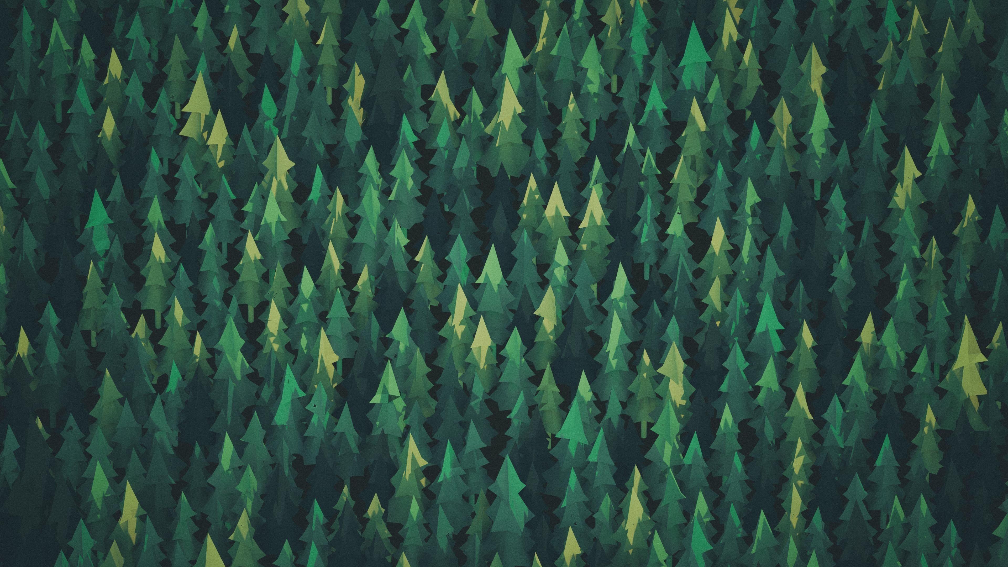 Forest Green Nature Summer 4k Wallpaper Hdwallpaper Desktop In 2020 Minimalist Wallpaper Forest Wallpaper Desktop Wallpaper