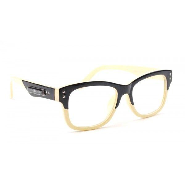 Antoine + Stanley frames - cream and black