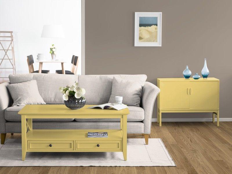 Warme Braun Töne Als Wandfarbe Schaffen Gemütlichkeit. Mehr Zu Diesem  KOLORAT Zimmer U0026