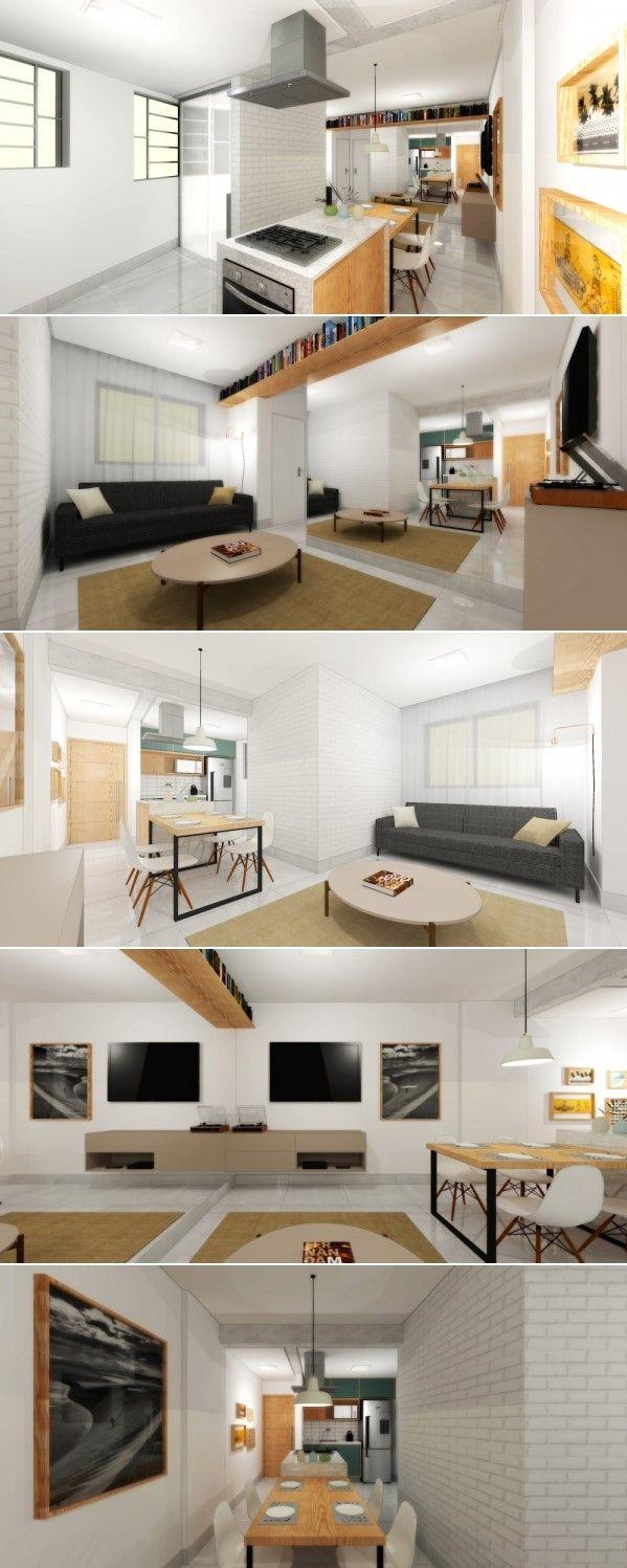 Apartamento Do Pedro Daniel Carvalho Arquiteto Projeto Para