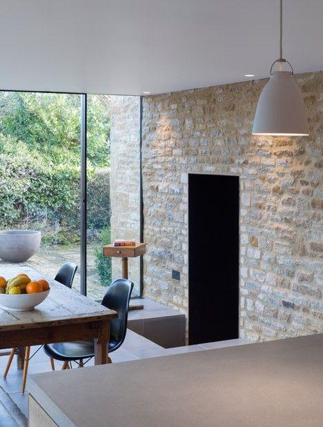 Le studio londonien Jonathan Tuckey Design a réalisé cette extension