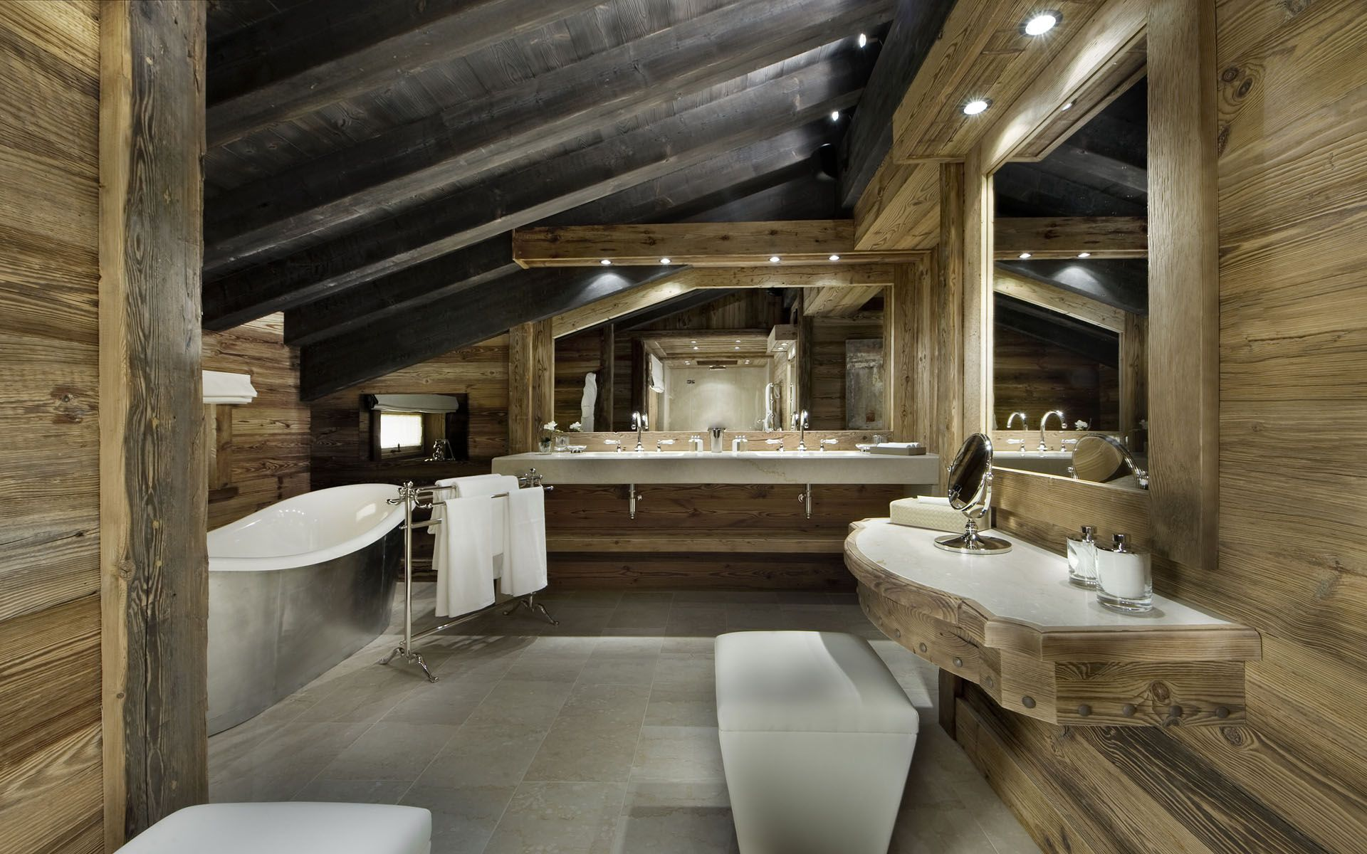 Luxury Ski Chalet, Chalet Edelweiss, Courchevel 1850, France ...