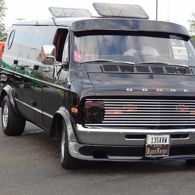 Custom 70'd Dodge Van rollin' | Custom Vans | Pinterest | Dodge van