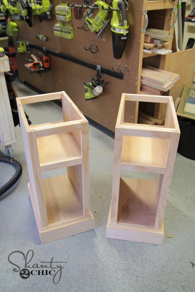 DIY Corner Desk   Escritorio esquina, Cosas en madera y ...