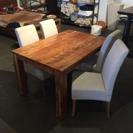 Table à dîner en bois i kif kif import meubles en bois et décorations exotiques