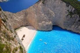An island in Greece