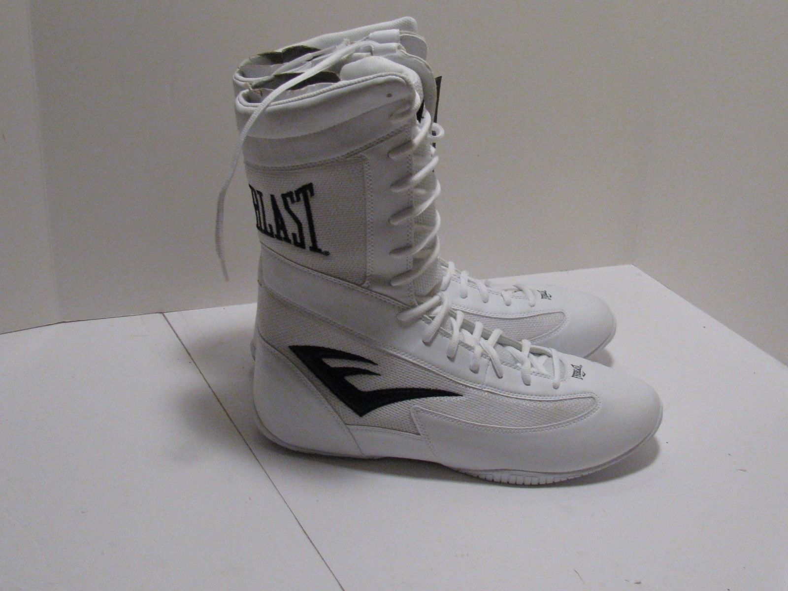 hot sale online 22b45 27f58 Everlast Michelin Hydrolast Lockdown Hi-Top Men s Boxing Shoes - White Size  16 in Sporting Goods, Boxing, Martial Arts   MMA, Clothing, Shoes    Accessories, ...