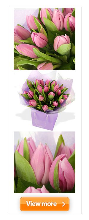 Purple was once a pleasure reserved for royalty, but you can make a #magenta monarch of your most inspiring playmate with this rather risqué wrap of #plum-tinted #petals. #tulips