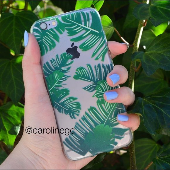 Fern Print Case Soft tpu print case Fits iPhone 6/6s Same/next day shipping Price is firm. No trades Comes new in Packaging. No brand. $8 shipped on Ⓜ️ercari PINK Victoria's Secret Accessories Phone Cases