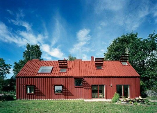 Single family house in Sweden (Tham & Videgård Architects)