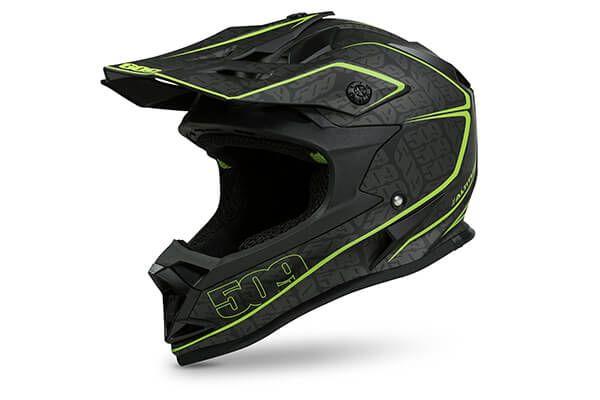509 Altitude Helmet Lime