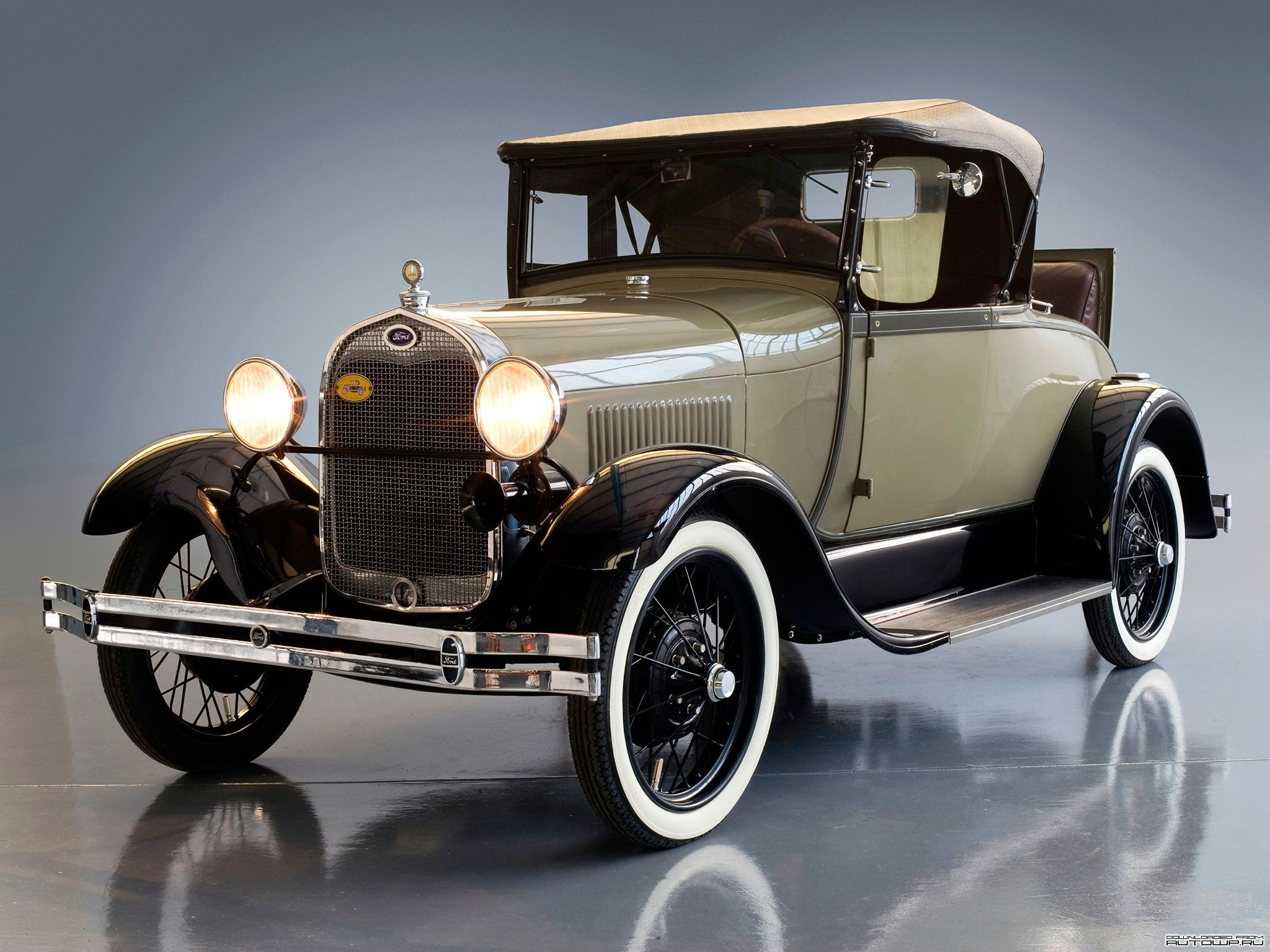 This car is a 1929 Ford model.The car only came in a few colors. For ...