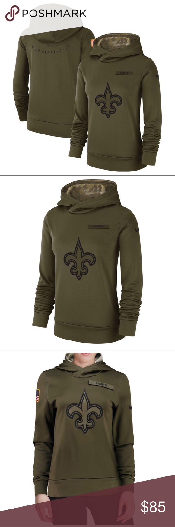 95cb8c64 NWT NO Saints Nike NFL Salute To Service Hoodie Brand new with tags ...