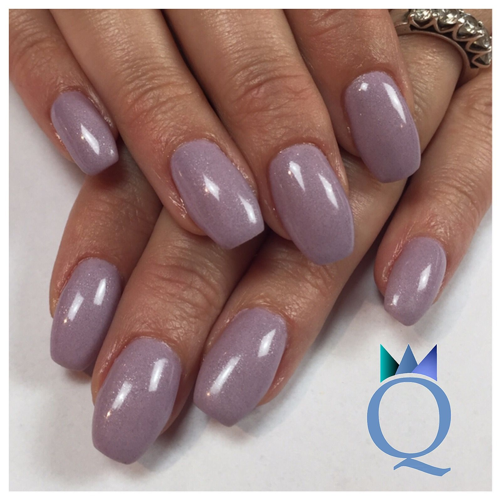 coffinnails gelnails nails lilac ballerinaform geln gel n gel lila nagelstudio m hlin. Black Bedroom Furniture Sets. Home Design Ideas