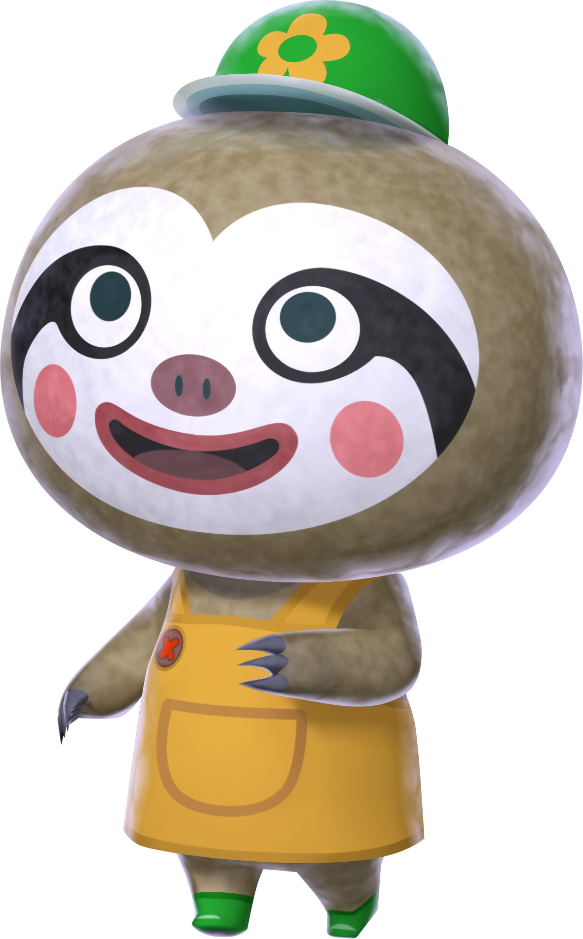 "Leif ""Happy Axe"" from Animal Crossing New Leaf Animal"