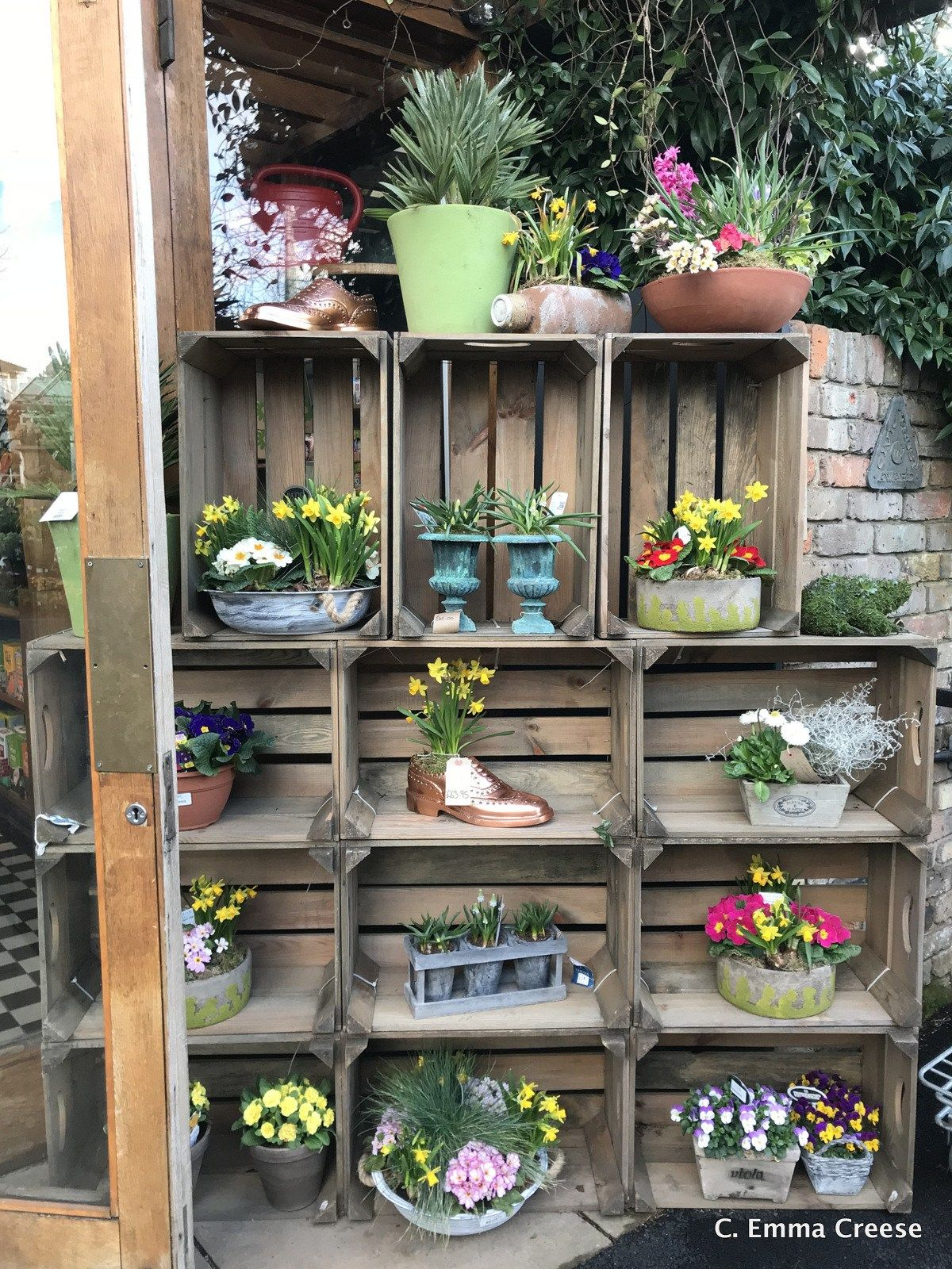The Quince Tree Cafe at Clifton Nurseries | Display ideas