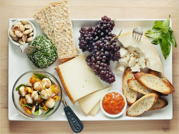 a summer cheese plate - from sprouted kitchen