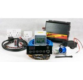 Full Camper Van Electrical Wiring Conversion Kit With Inverter Campervan Camper Conversion Motorhome