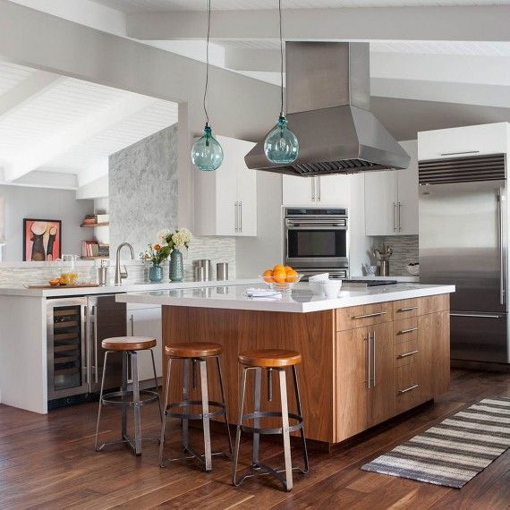 How to Update Your Kitchen Without Losing its Character | Martha Stewart Living - After seeing this makeover you'll be inspired to give your kitchen the style -- and storage -- update it deserves.