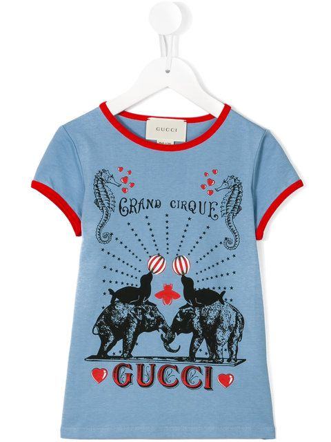 93e044807 Gucci Kids logo print T-shirt | Baby clothes