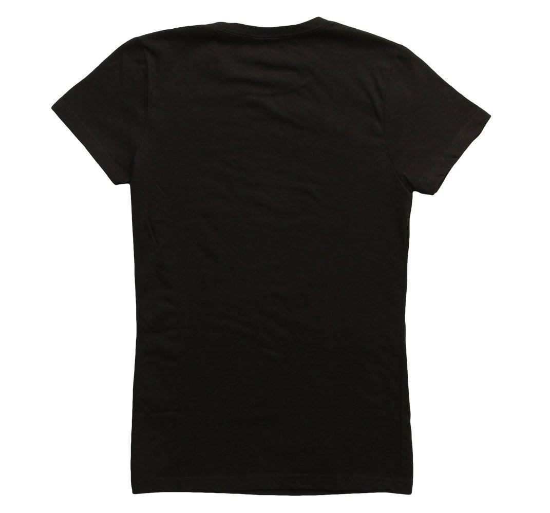 Womens Black Tee Shirts Photo Album - Fashion Trends and Models