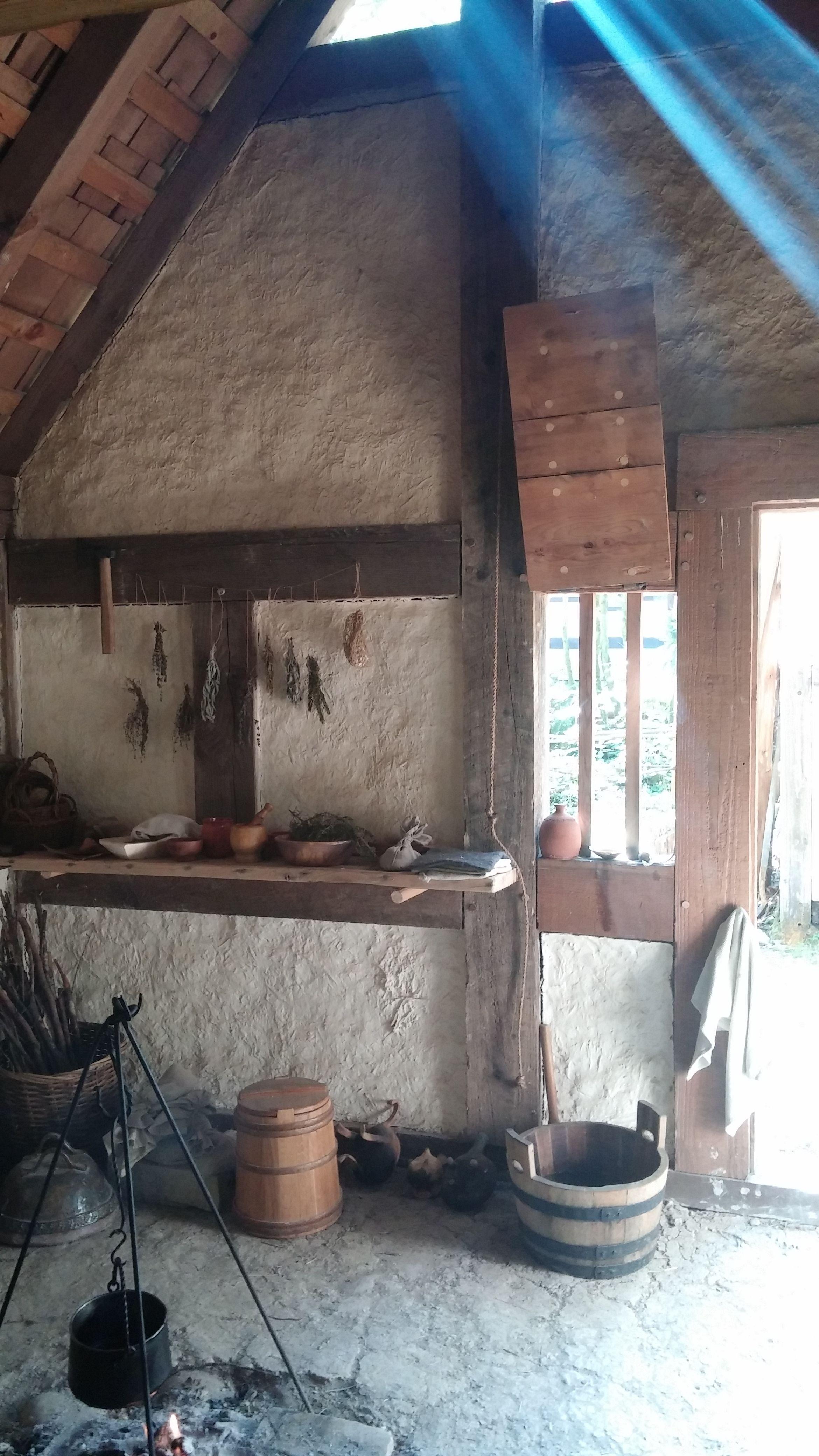 14th century peasants cottage medievallife pinterest