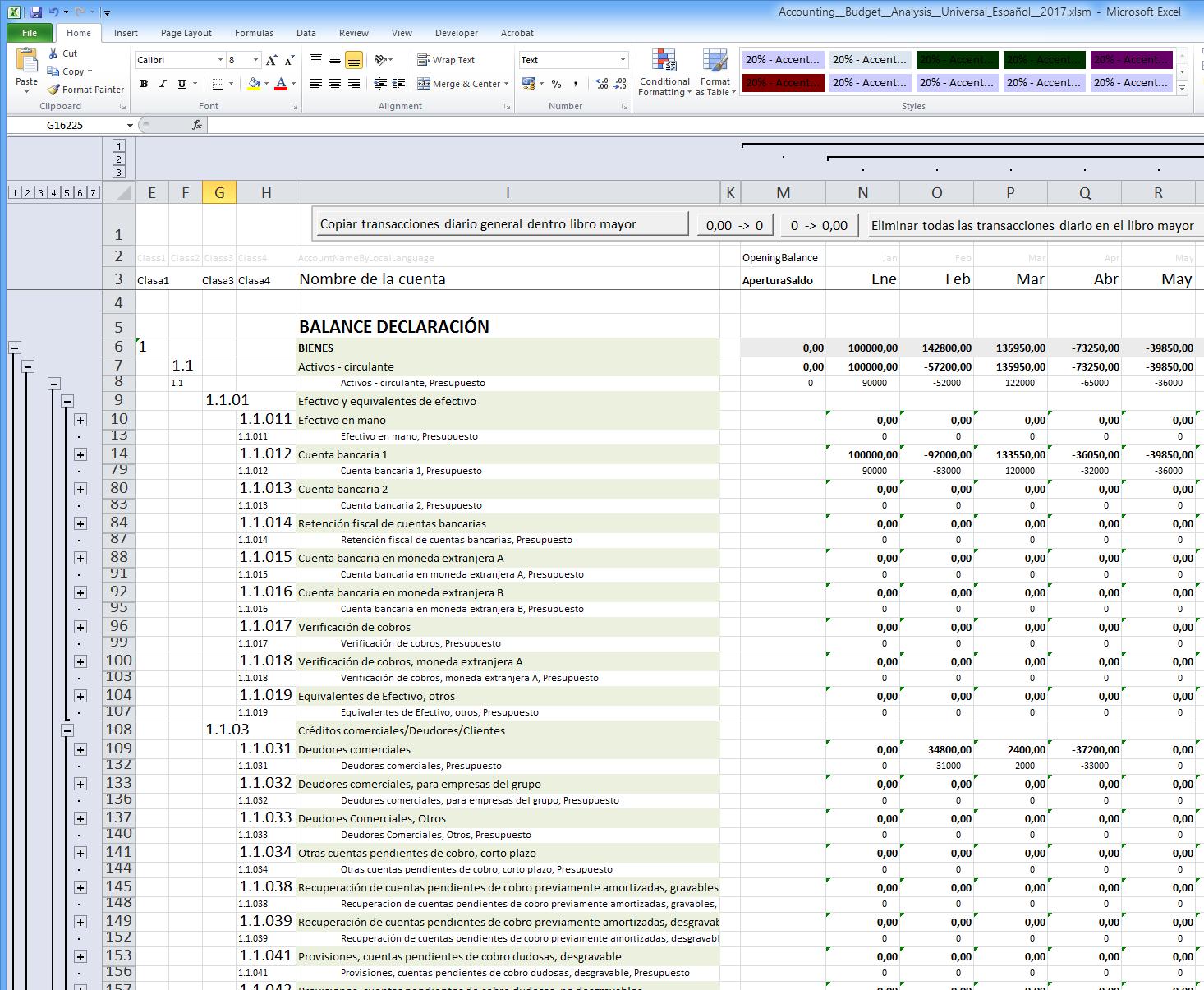 Budget Analysis Excel Ukrandiffusion