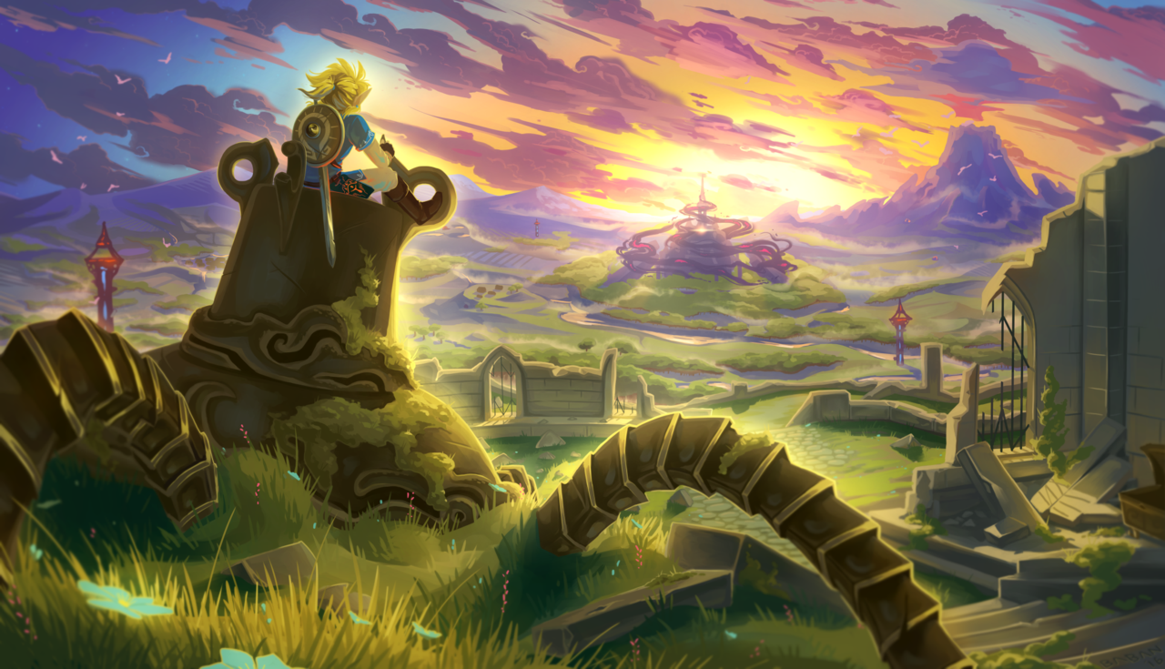 Best The Legend Of Zelda Breath Of The Wild Artwork Wallpapers