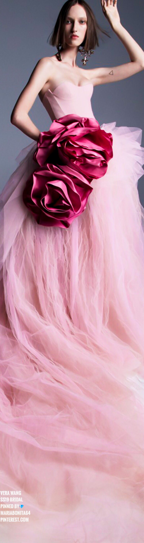 Vera Wang Spring 2019 Bridal | Here Comes The Bride | Pinterest | Rosas