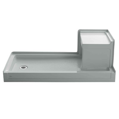 Tresham 60 X 32 Single Threshold Left Hand Drain Shower Base