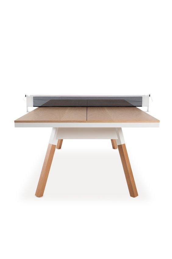 You And Me Convertable Ping Pong Table In Oak Dshop