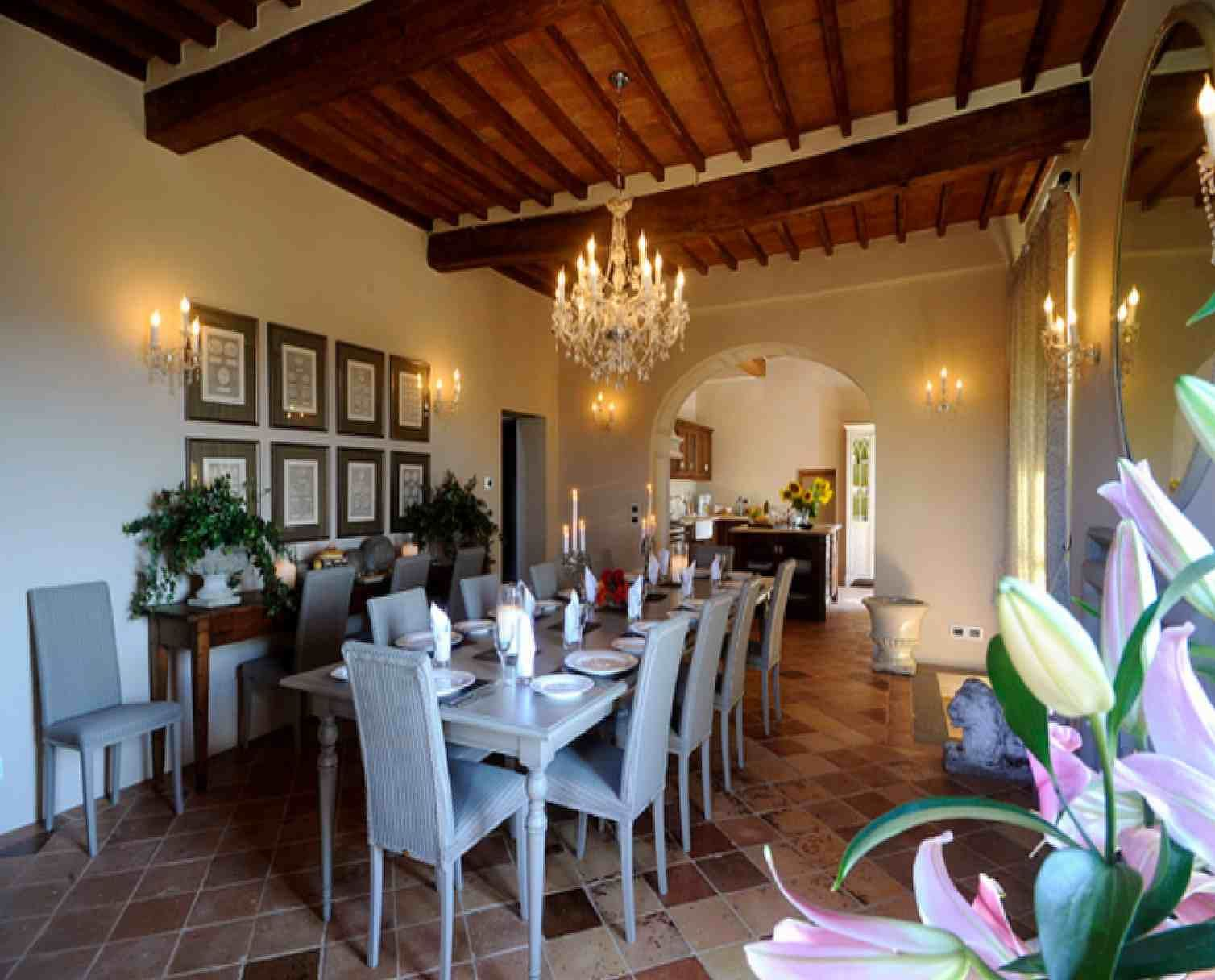 tuscan style bedrooms | spectacular design tuscan dining room