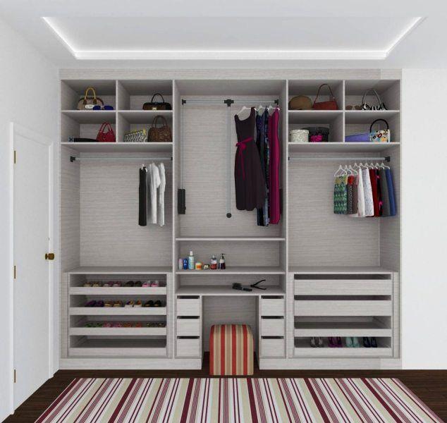 une id e pour bien organiser son dressing rangement v tement chaussure chambre http. Black Bedroom Furniture Sets. Home Design Ideas