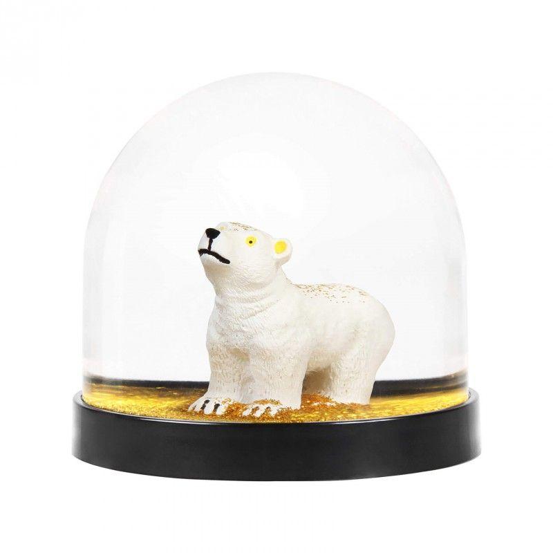 Boule à neige - Ours polaire doré - KLEVERING - Perlin Paon Paon