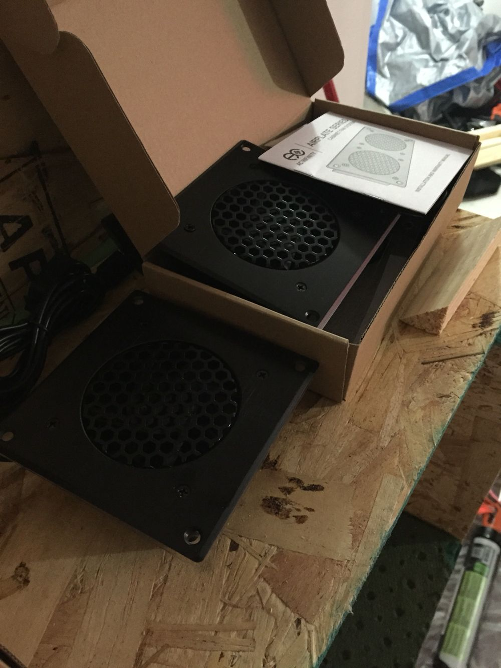 Ultra Low Noise Fans For Booth Ventilation System