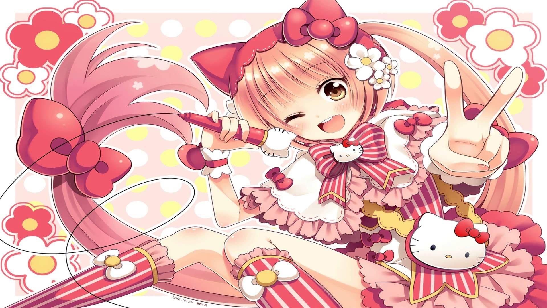 Nightcore Hello Kitty (Mp3 Download Hello kitty art