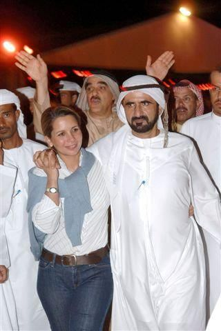 Haya bint Al Hussein y Mohammed RSM | Princess Haya Bint Al Hussein