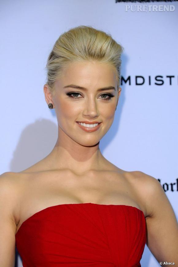 Photo of FOTOS – Les tendances maquillage mariage Gießen Sie einen Schönheitslook-Glamour auf die Kopie von maquillage d'Amber Heard. Betrachten Sie souligné à l'eyeliner und épaissi au mascara s'asso